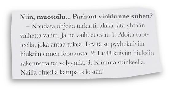Hiustenmuotoilu_vinkki