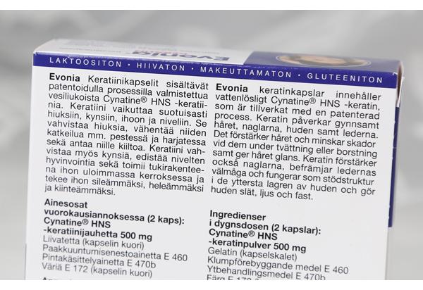 Evonia_pakkausteksti