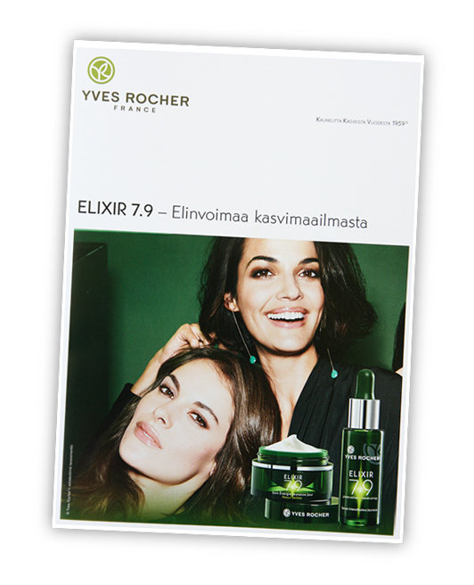 Yves Rocher Elixir 7.9 -testipaneelin tulokset