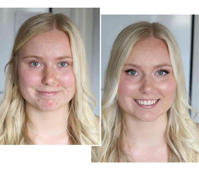 Frida_YOjuhlameikki_beforeafter