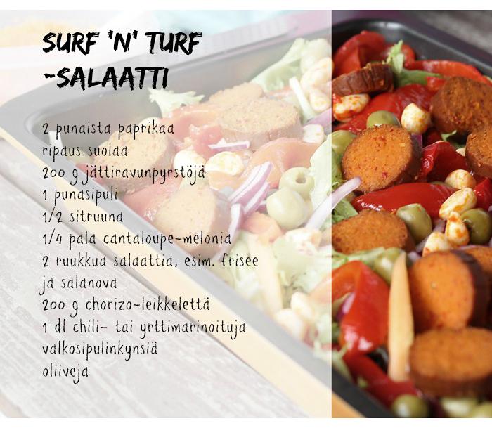 Surfnturf_salaattiohje