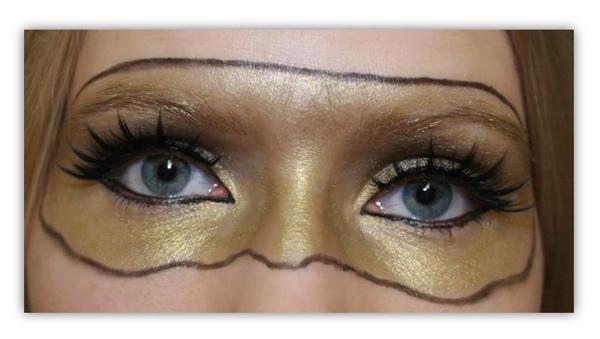 Oudoimmat meikkini: Kultanaamio