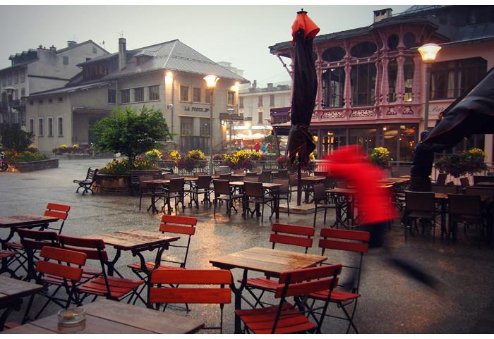 Sadetta ja shoppailua