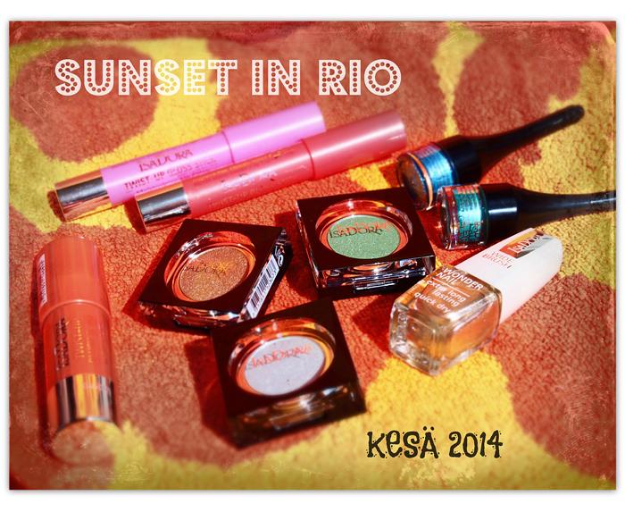 IsaDora Sunset In Rio