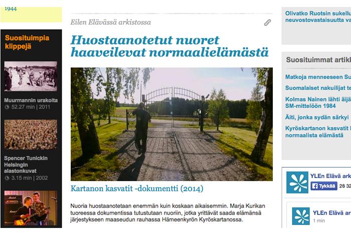 Torstai2011_Elavaarkisto