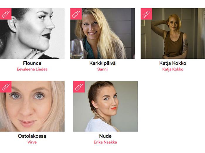 Minä. Edelleen Kauneusbloggaaja.