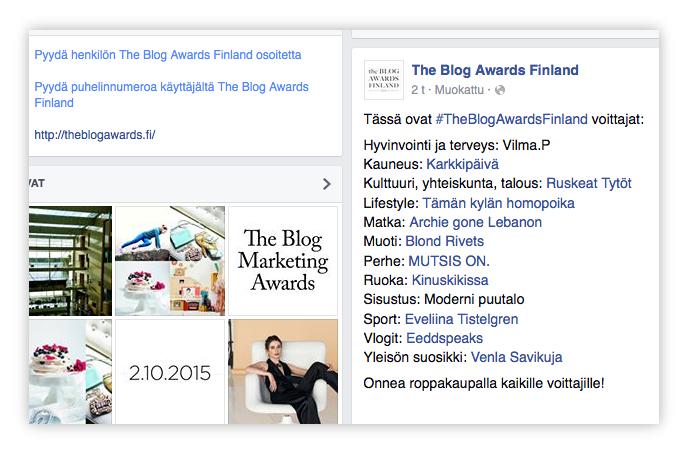 TheBlogAwards_Finland_voittajat