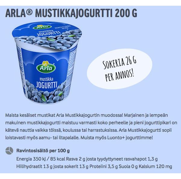 Sokeri_ArlaMustikkajogurtti