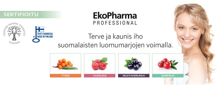 Kotimainen kosmetiikka: EkoPharma