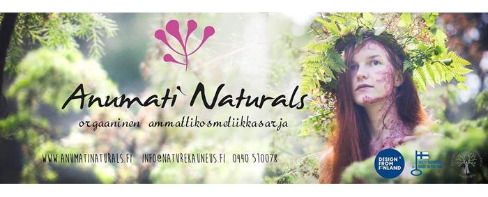 Kotimainen kosmetiikka - Anumati Naturals ( + jännin voidetuoksu EVER!)