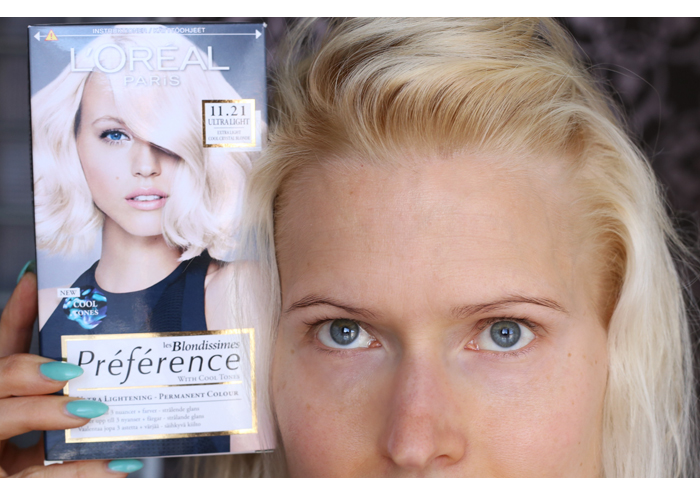 L'Oreal Preference Blondissimes Ultra Light Cool Crystal Blonde