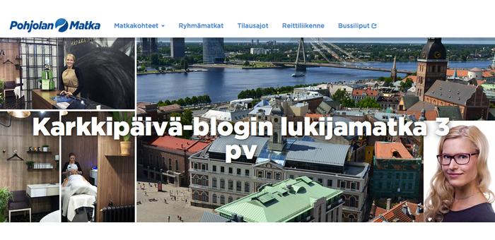 Lukijamatka vol. 2 vie Latviaan - tervetuloa mukaan :)