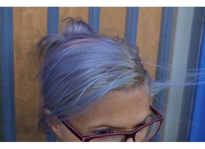 Hiusten kiinnostava taipale