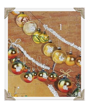 Joulukalenteri, luukku 1