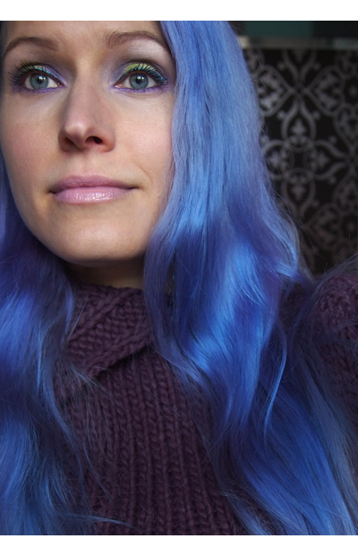 No nyt ne on siniset