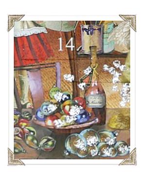 Joulukalenteri, luukku 14