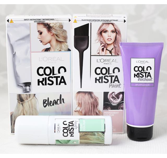 L'Oreal Colorista -hiusvärit
