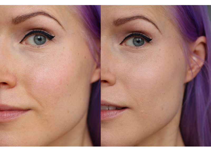 The Balm Time Balm beforeafter