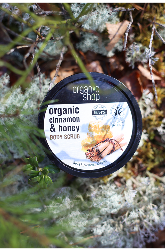 Organic Shop Body Scrub
