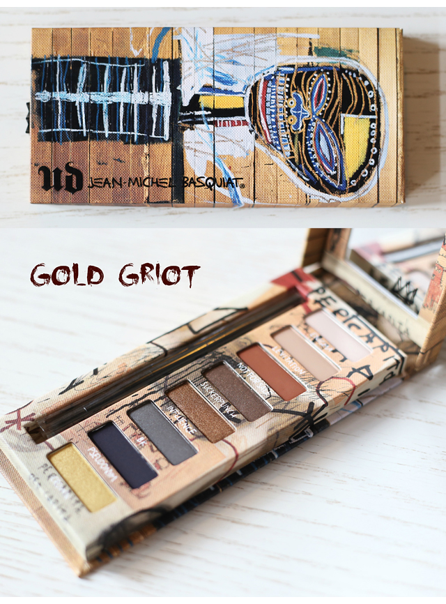 Urban Decay Basquiat Gold Griot