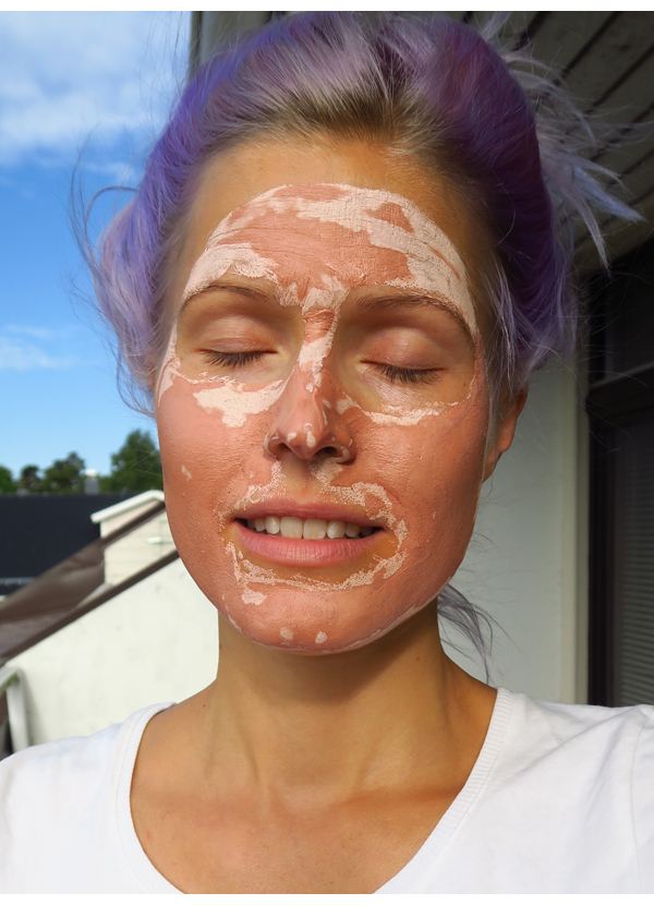 Oriflame Ecobeauty naamio