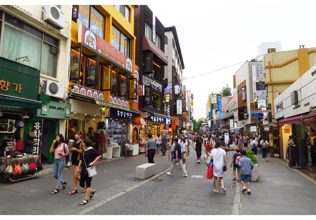 Korea_erikoisuus_Insadong_Street_IMG_8689