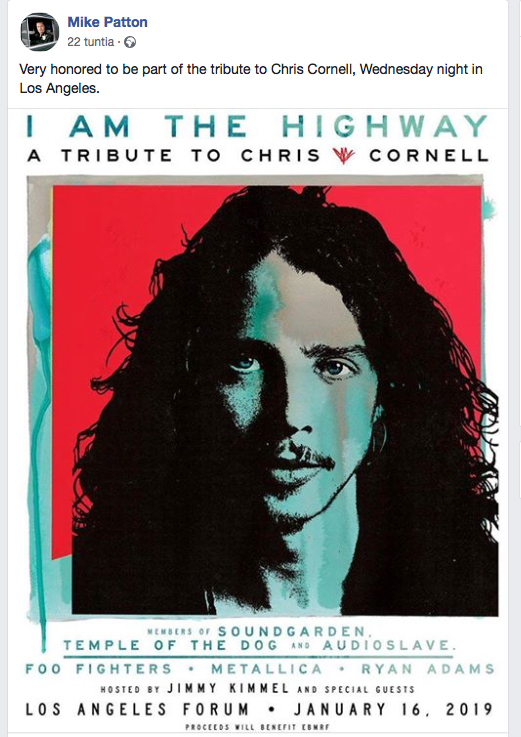 A Tribute to Chris Cornell