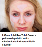 Loreal Total Cover palette