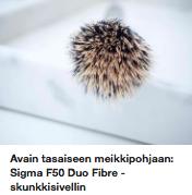 Sigma F50 skunkkisivellin