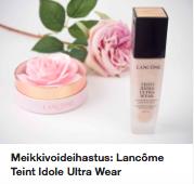 Lancome Teint Idole Ultra Wear meikkivoide