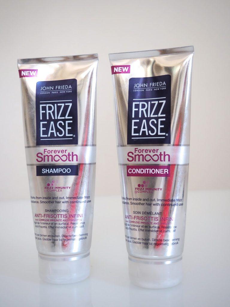 John Frieda Frizz Ease Forever Smooth -shampoo ja hoitoaine