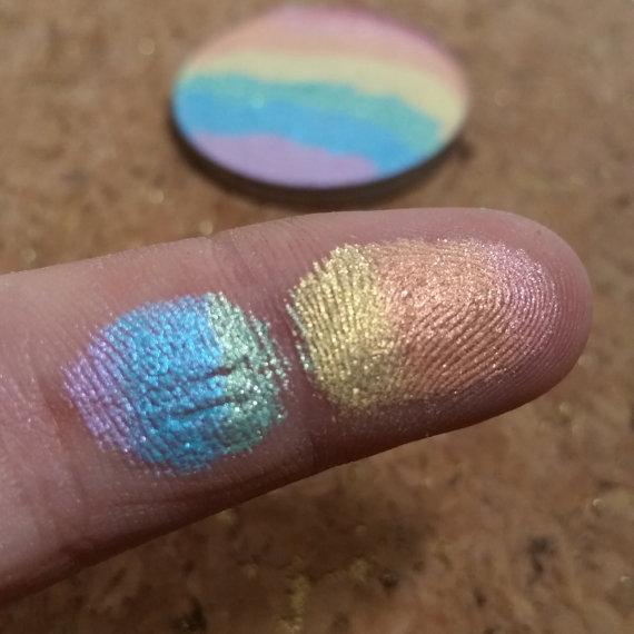 Bitter Lace Beauty Rainbow highlighter 3