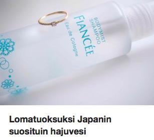 Japanin myydyin tuoksu Ostolakossa