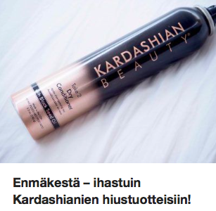 Kardashianien hiustuotteet Ostolakossa