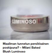 Milani poskipuna Luminoso