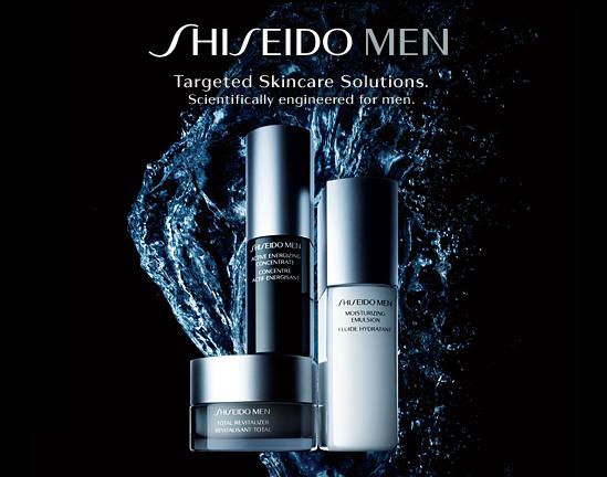 Shiseido miesten ihonhoito