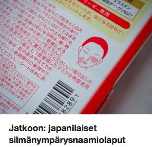 Japanilaiset silmänympärysnaamiot Ostolakossa