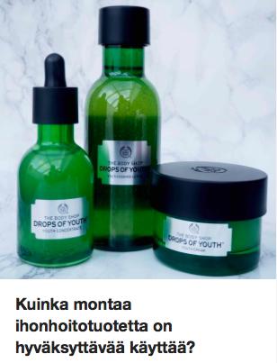 Monivaiheinen ihonhoito Ostolakossa