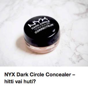 NYX Dark Circle Concealer Ostolakossa