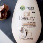 Markettivinkki kuivalle vartalon iholle: Garnier Body Oil Beauty Oil-Infused Nourishing Lotion