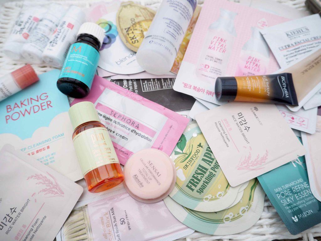 Kosmetiikkanäytteet