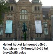asuminen ruotsissa