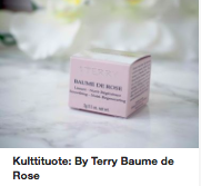 By Terry Baume de Rose kokemuksia