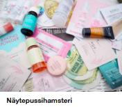 Kosmetiikka näytteet testerit