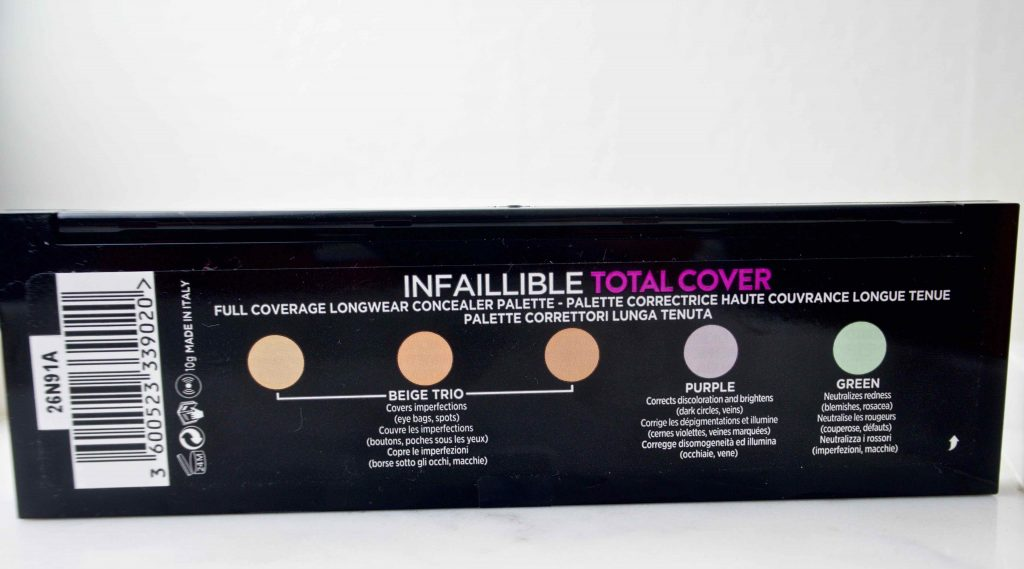 L'Oréal Paris Infaillible Total Cover