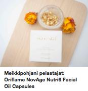 Öljykapselit iholle Oriflame