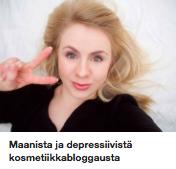 Maanisdepressivinen bloggaaja