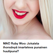 Mac Ruby Woo huulipuna