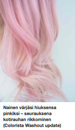Colorista Pinkhair sävyte kokemuksia