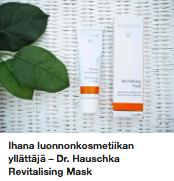 Dr Hauschka kasvonaamio